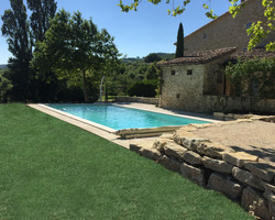 MGP PISCINES - Construction piscine traditionnelle, - Suze sur Crest